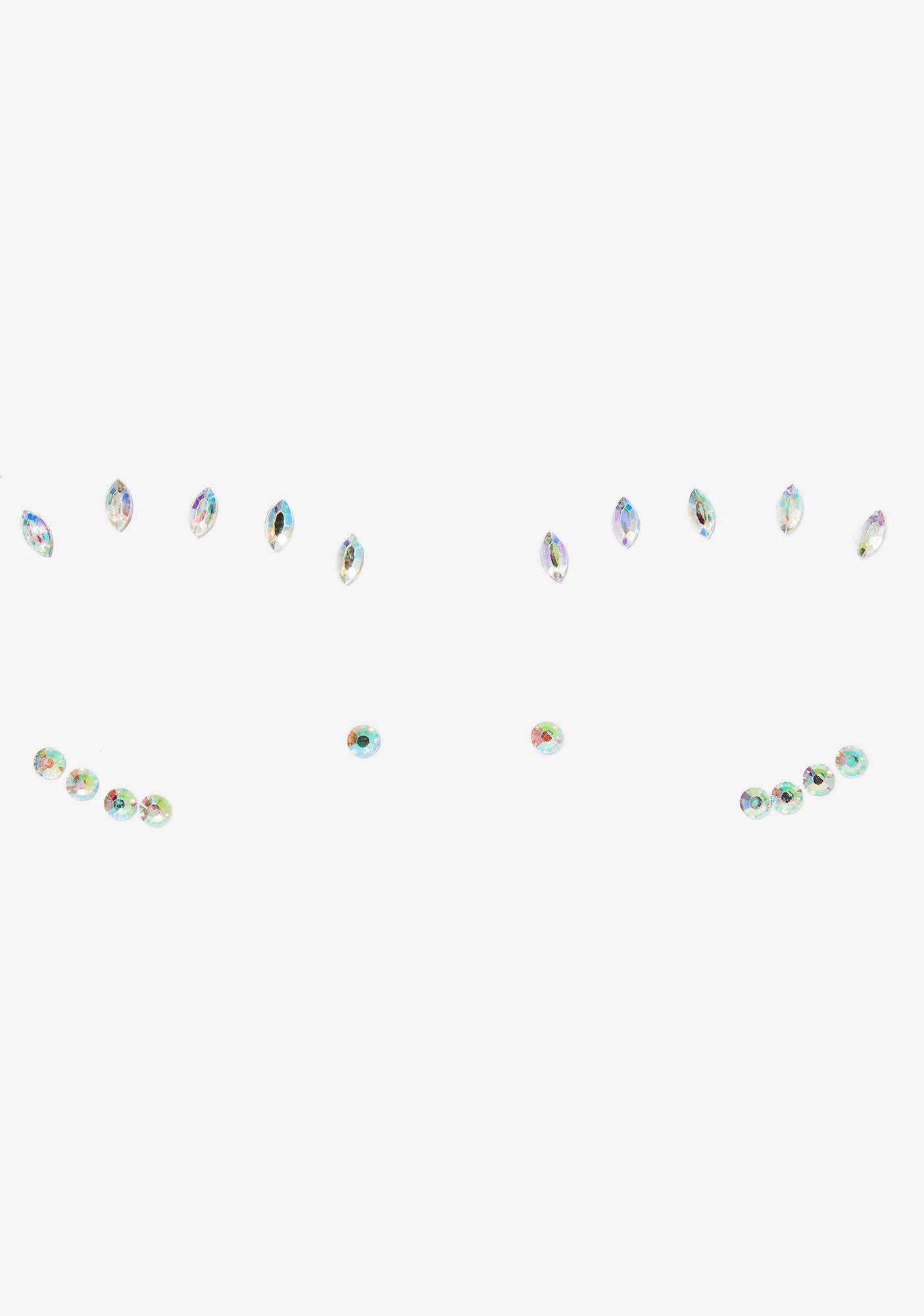 Lunautics Glam Cosmic Face Crystals