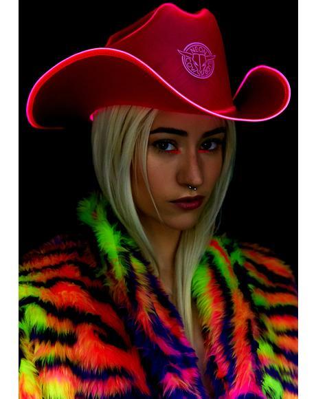 BeauPeep Light It Up Cowboy Hat