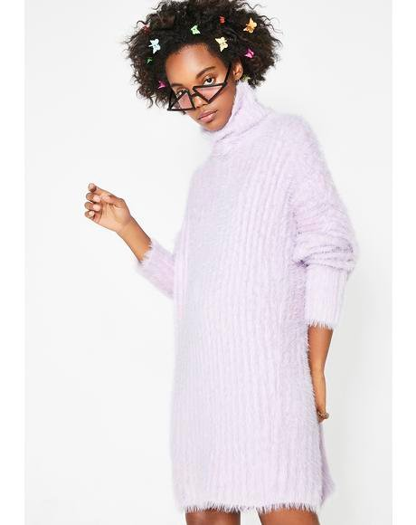 Lady Charm Sweater Dress