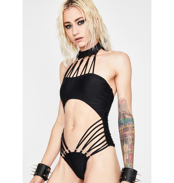 Lock Em Down Cut Out Bodysuit