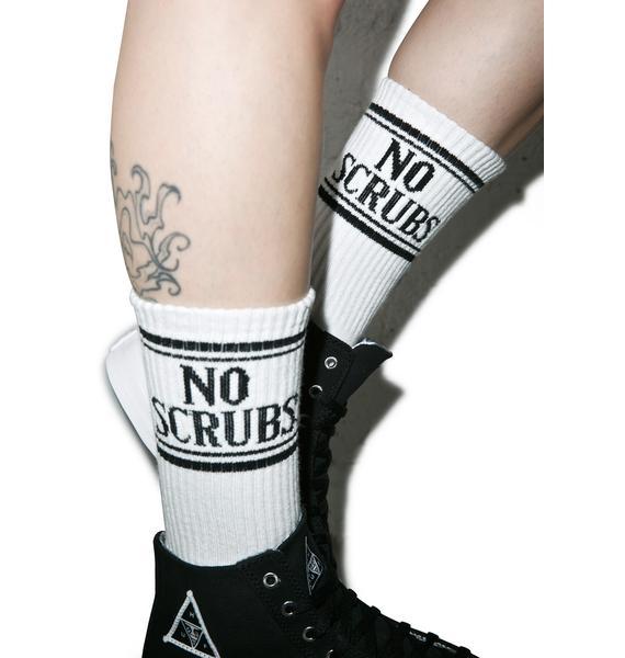 Dimepiece No Scrubs Socks