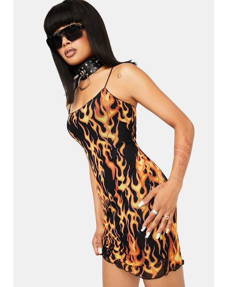 Evacuate The Dance Floor Mini Dress