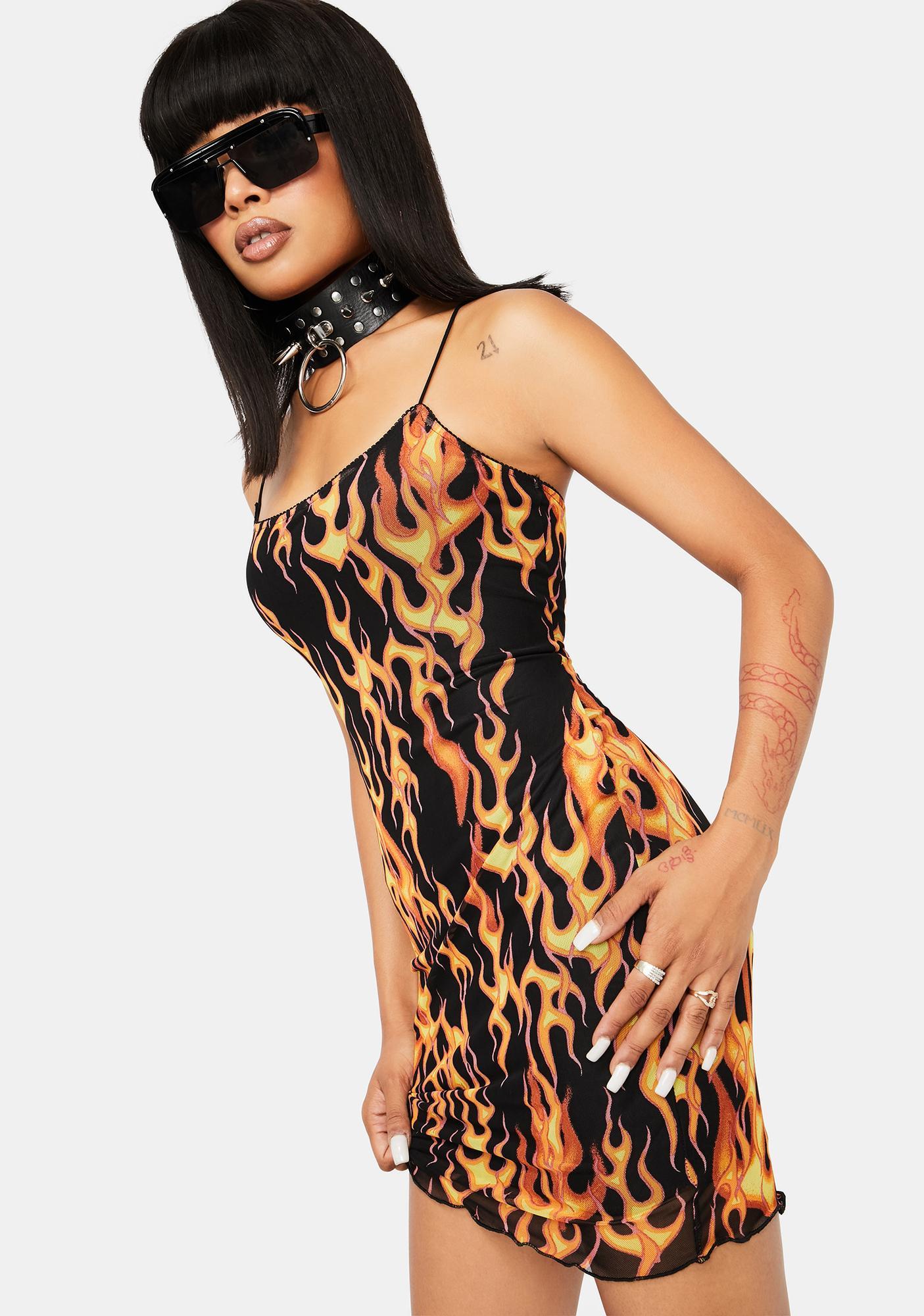 Evacuate The Dance Floor Mini Dress