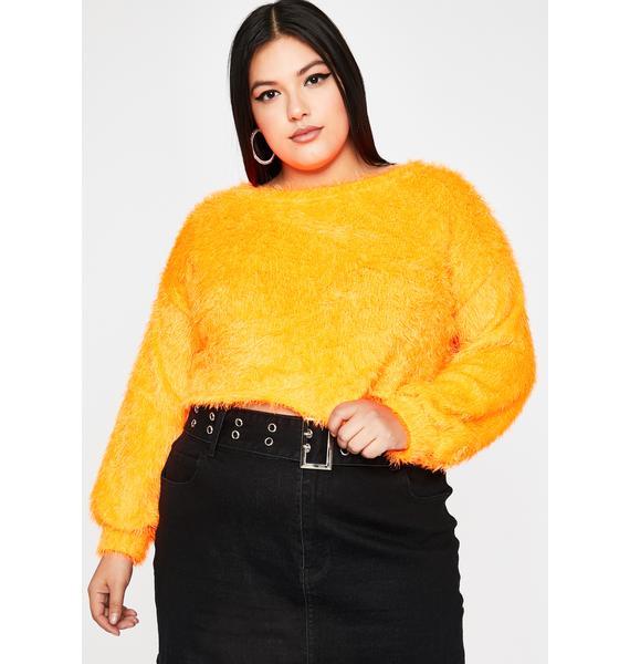 Vivid Total Daring Diva Crop Sweater