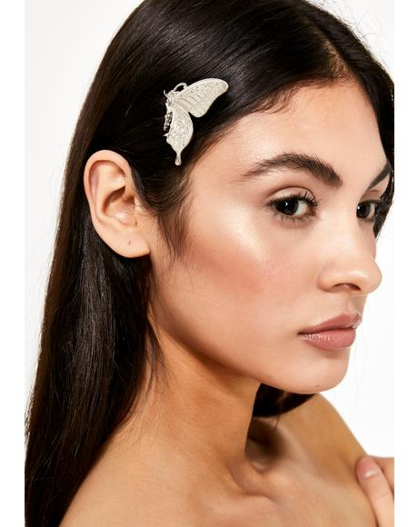 Winged Magic Butterfly Hair Clip