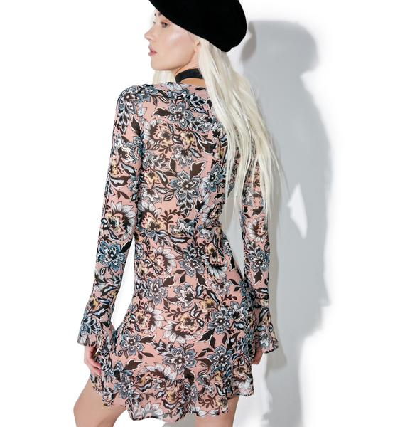 For Love & Lemons Gracie Mini Dress