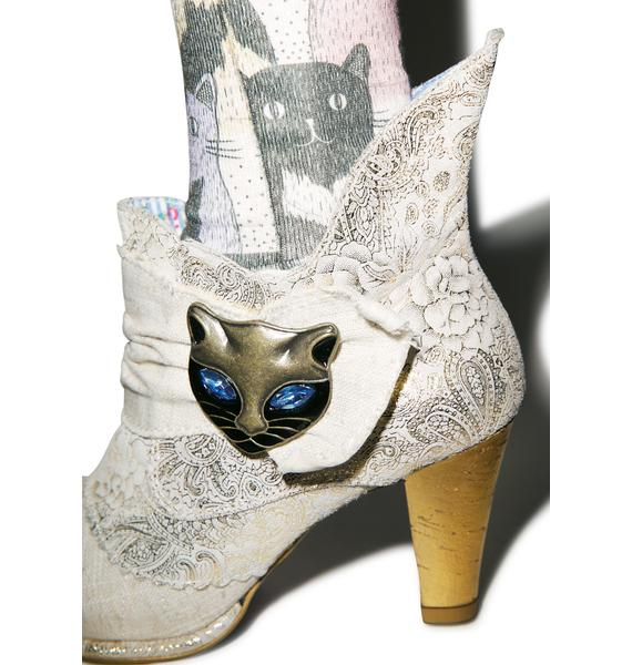 Irregular Choice Miaow Boots