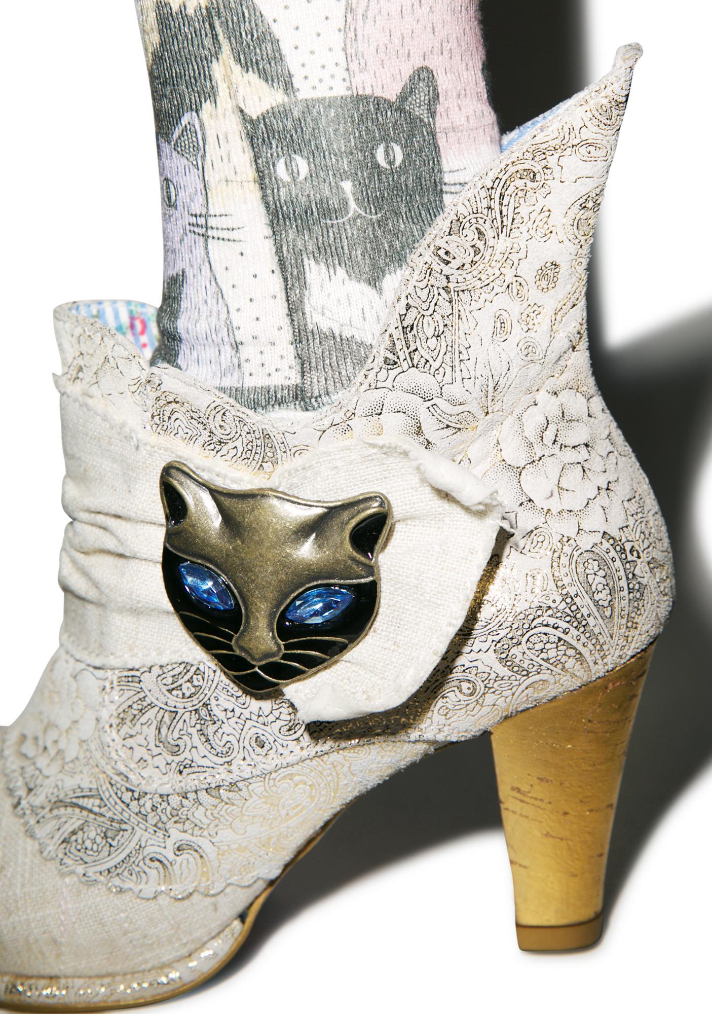 Irregular Choice Miaow Boots