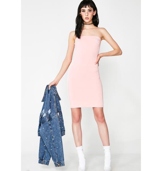 O Mighty Logo Mini Dress