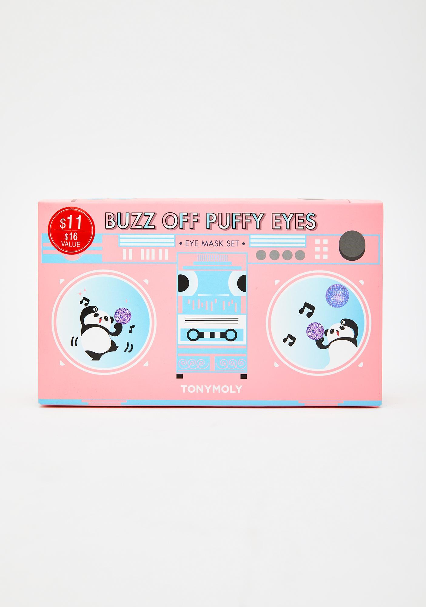 TONYMOLY Buzz Off Puffy Eyes Eye Mask Set Of 4