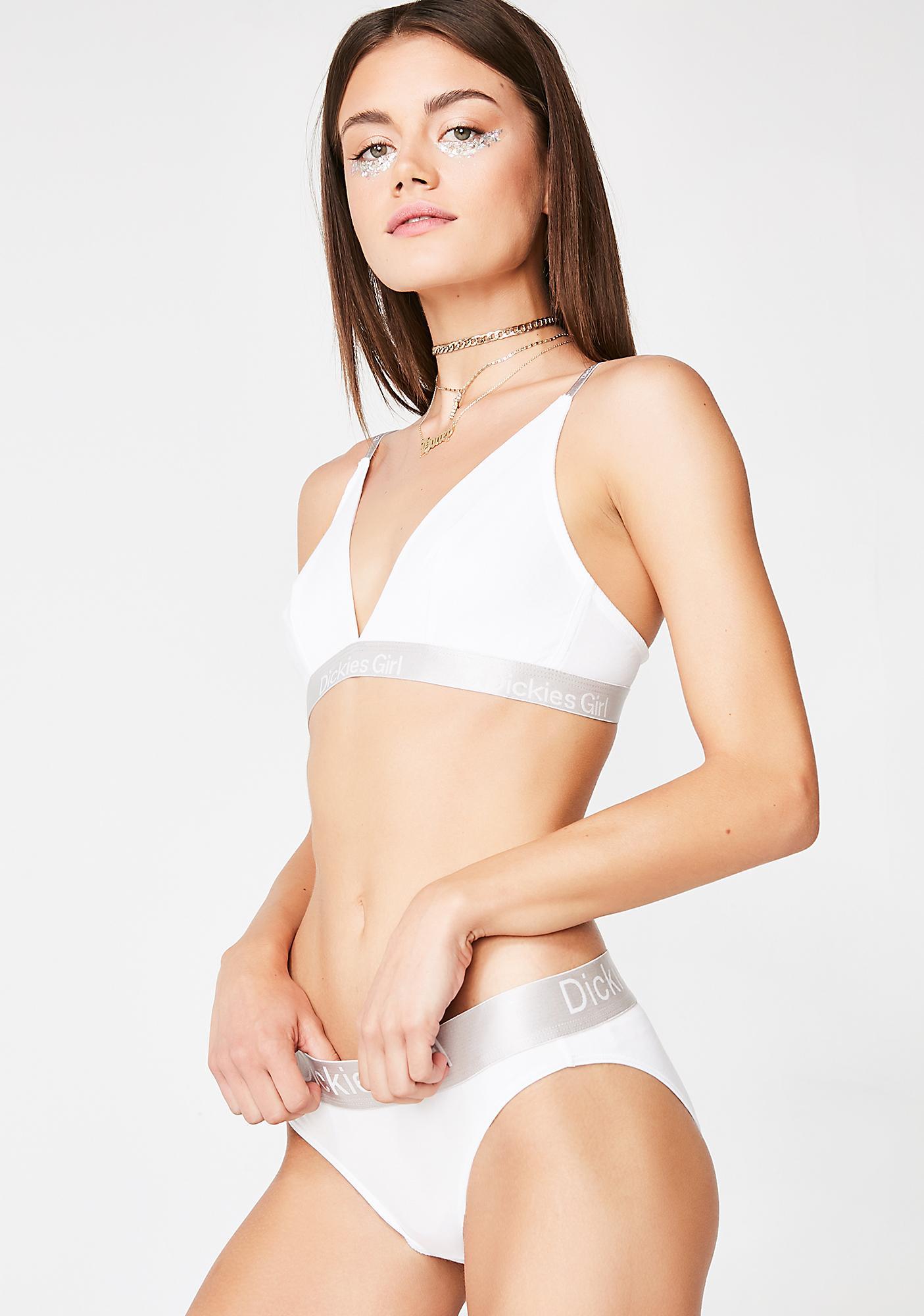 87e24daa9 Dickies Girl Innocent Triangle Bra N Bikini Set