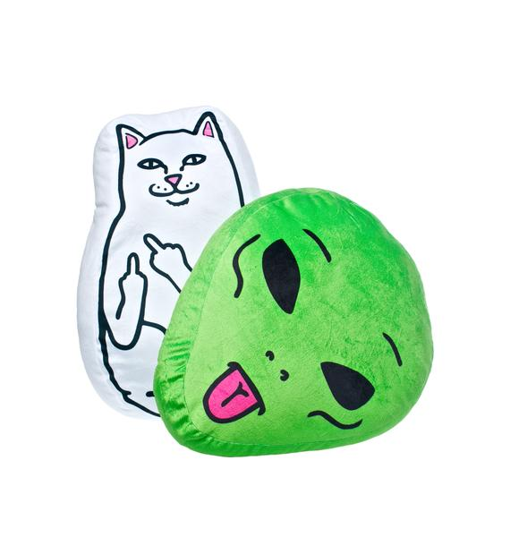 RIPNDIP Lord Nermal Pillow