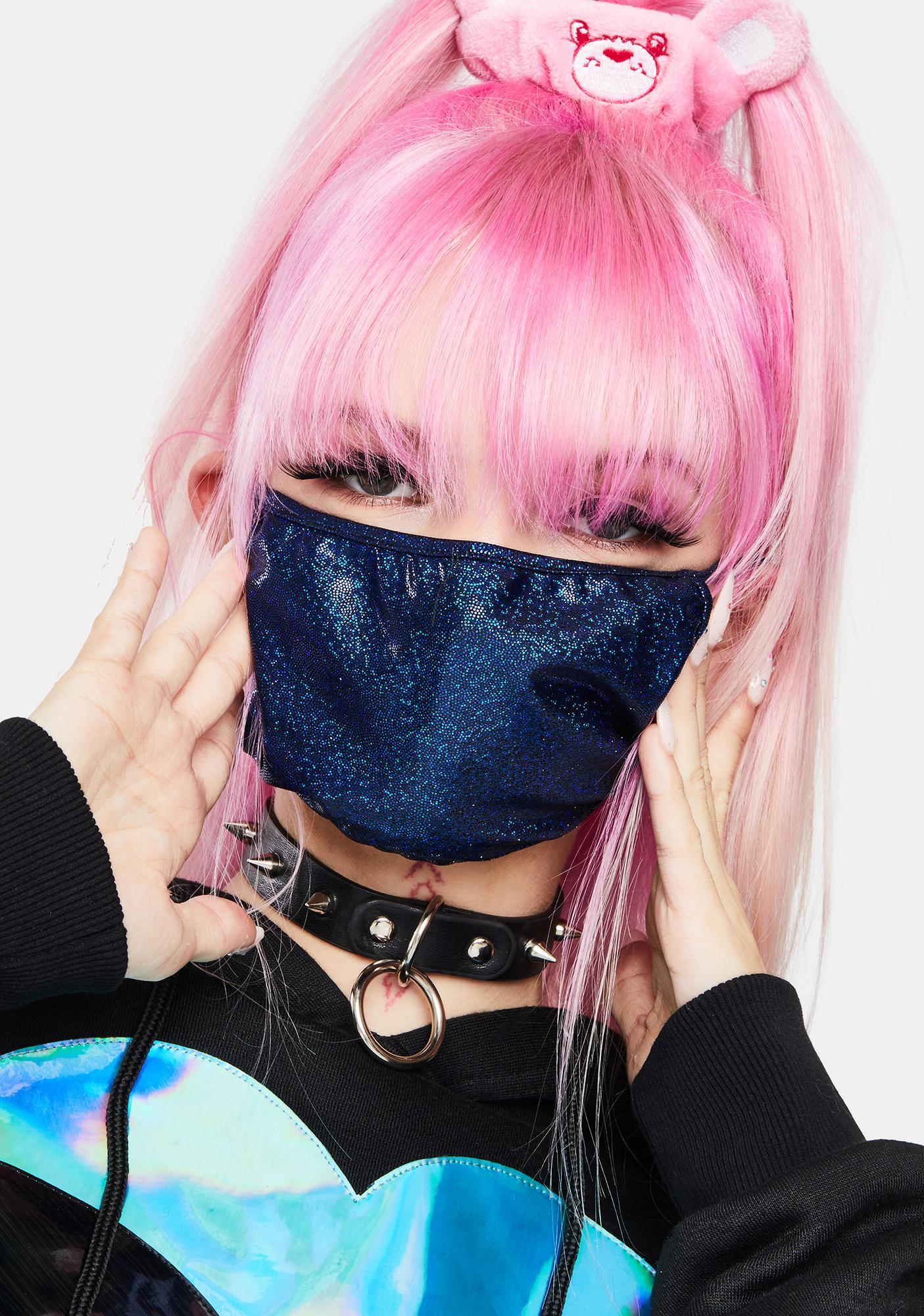 Royal Shimmer And Shine Face Mask