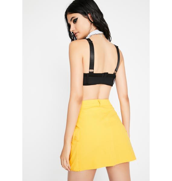 Bee Forever Litty Cargo Skirt
