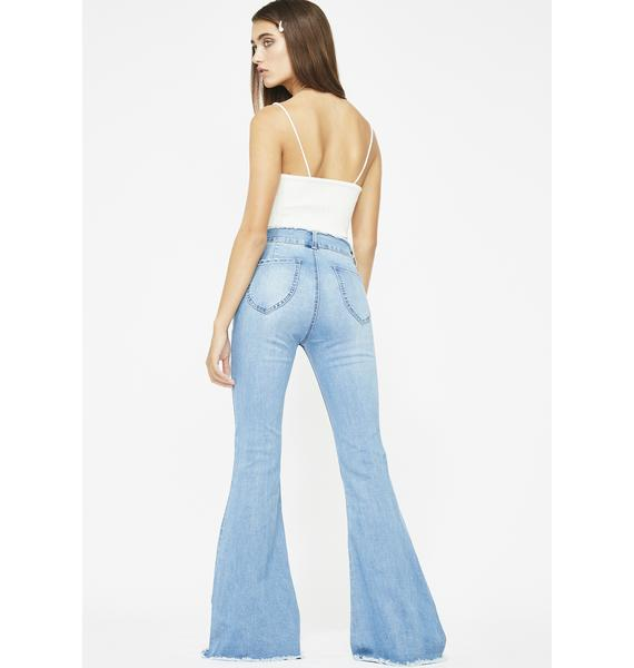 Blissed In The Abyss Bell Bottoms