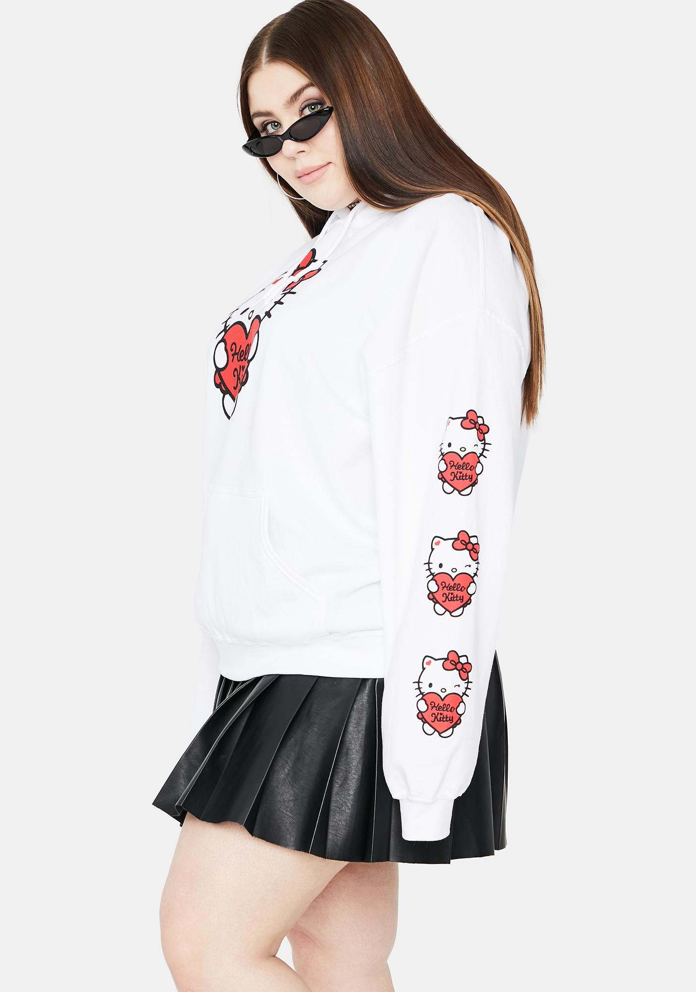 NEW GIRL ORDER Curve Hello Kitty Oversized Hoodie