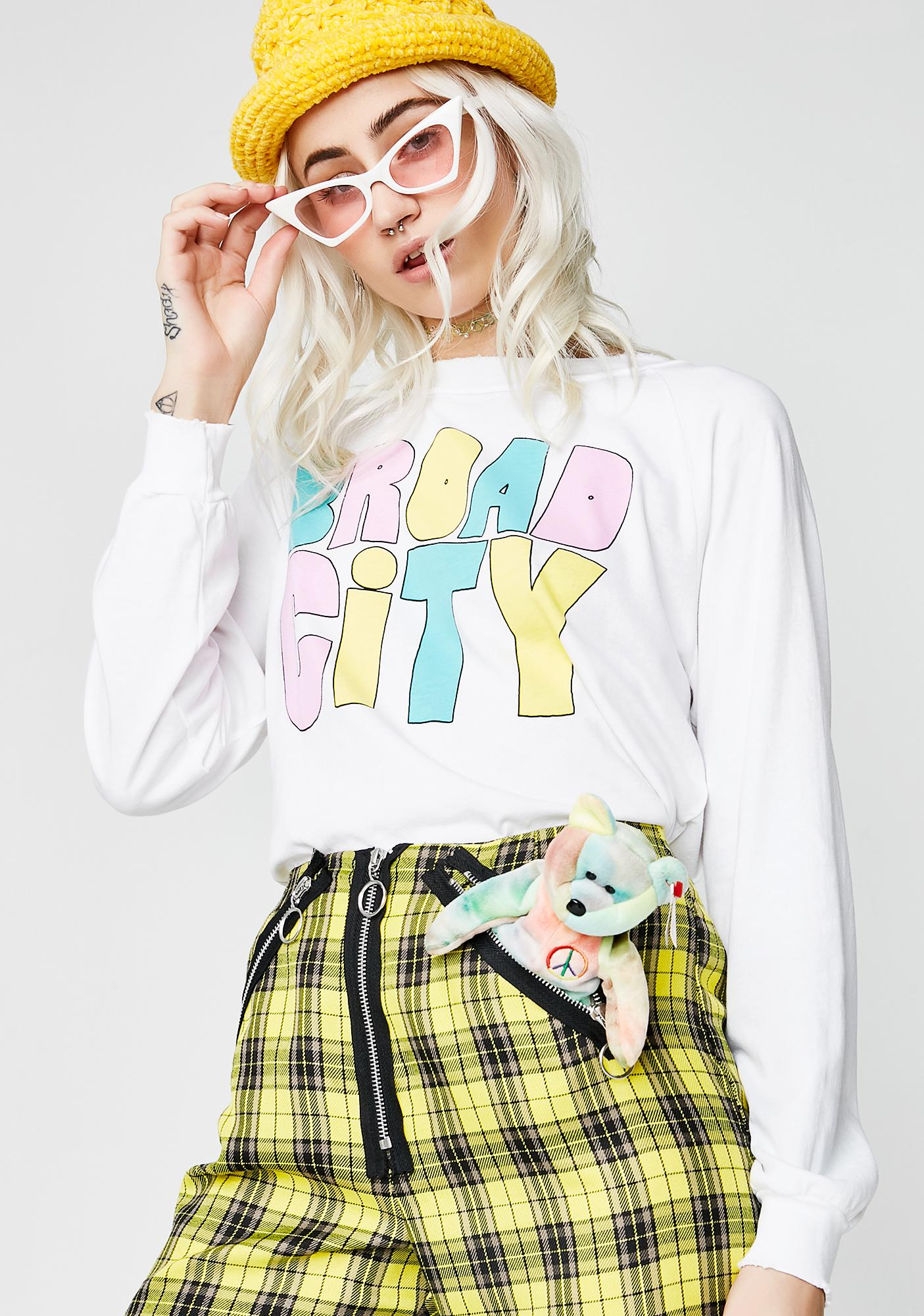 Wildfox Couture Broad City Multi Junior Sweatshirt