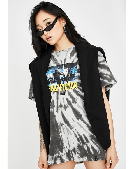 x Pulp Fiction Dance Scene Tie Dye Tee