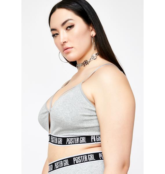 Poster Grl Go Boss Mode Strappy Bra