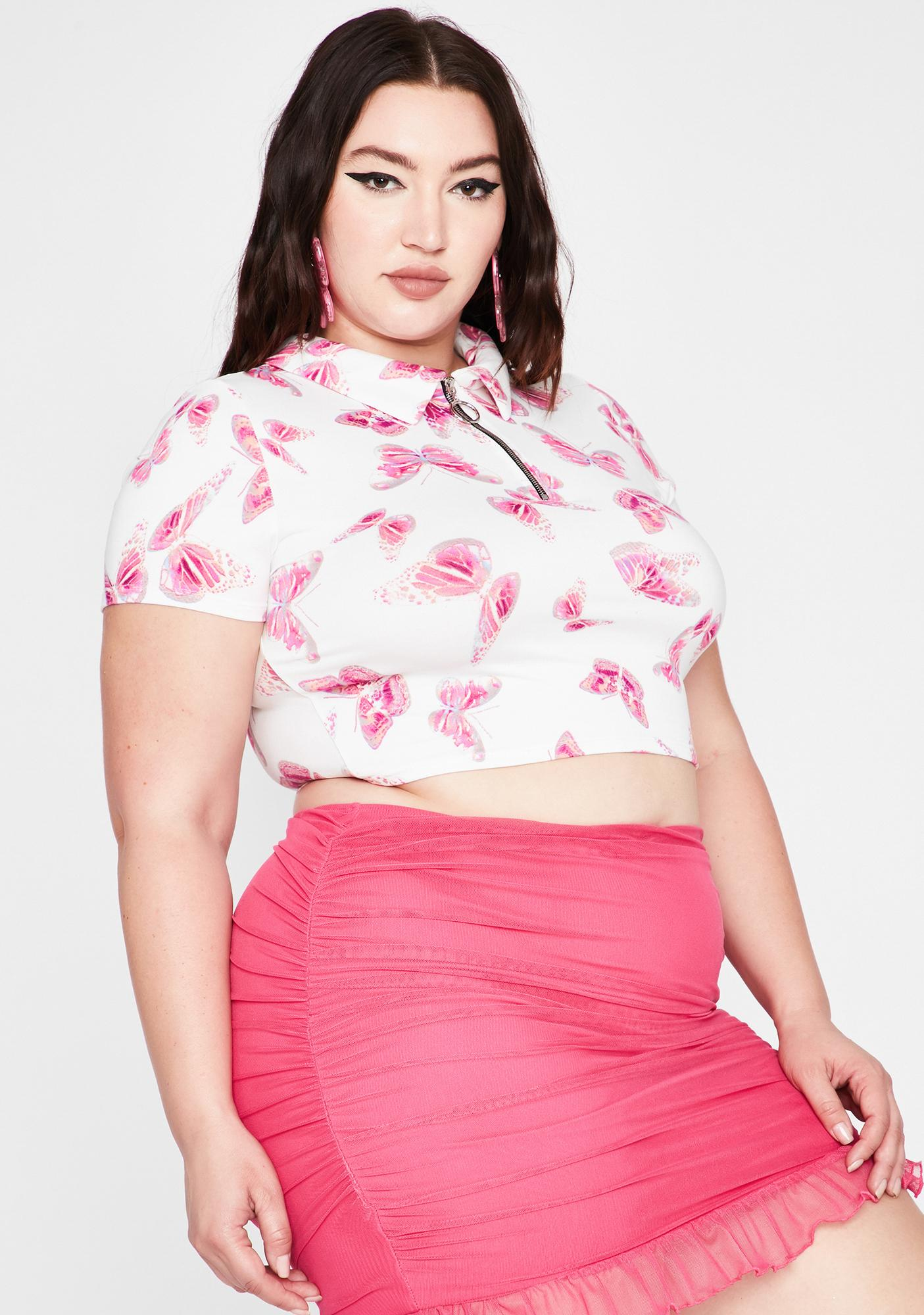 Her Sweet Daydreams Crop Top
