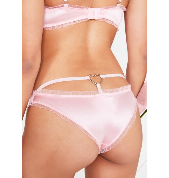 Sugar Thrillz Royally Yours Satin Panties