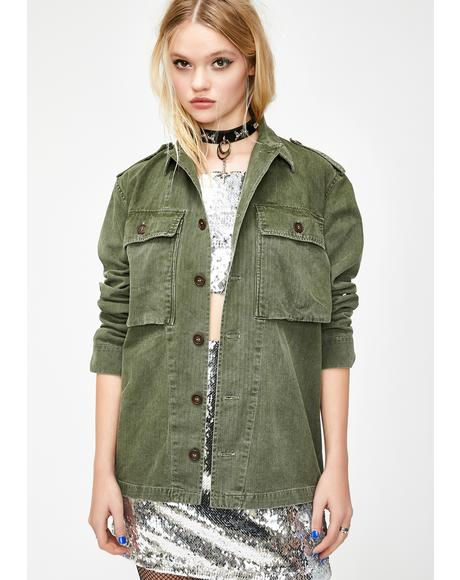 Lovestruck Army Jacket