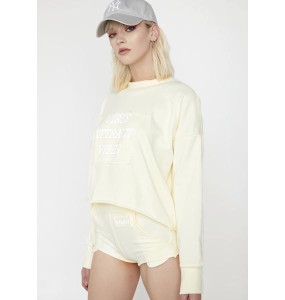 My Mum Made It Vibes 3M Reflective Sweatshirt