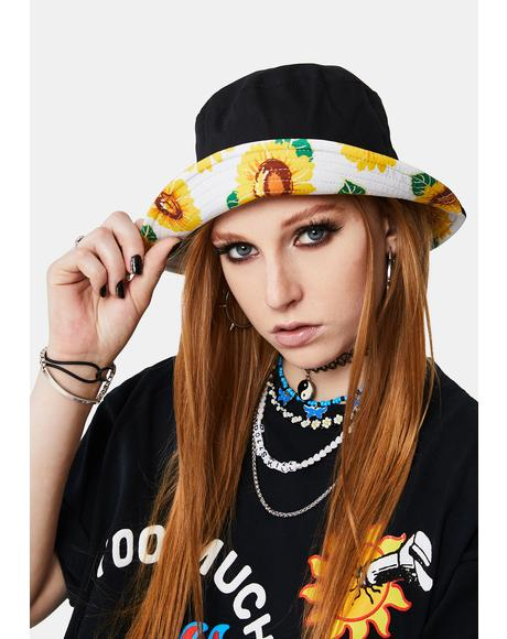 Sunny Days Reversible Bucket Hat