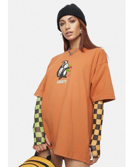Pumpkin Spice Love Stinks Graphic Tee
