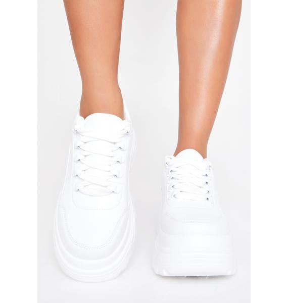 Koi Footwear Striker Platform Sneakers