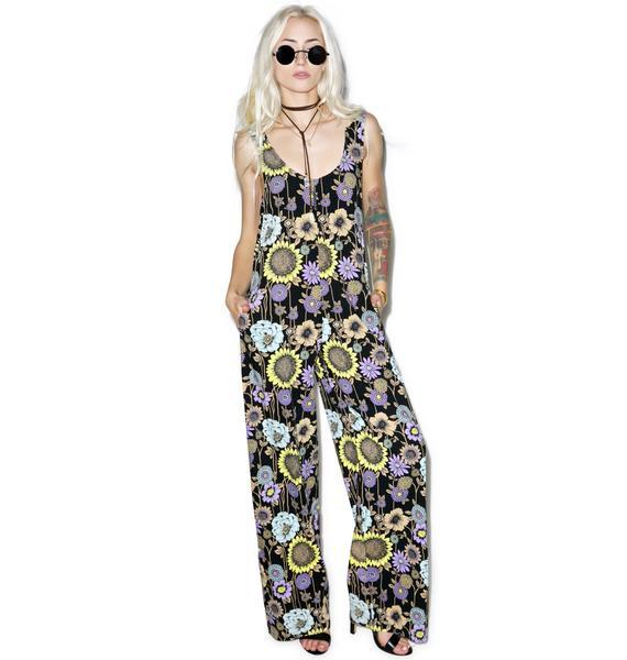 Motel Flower Power Jumpsuit