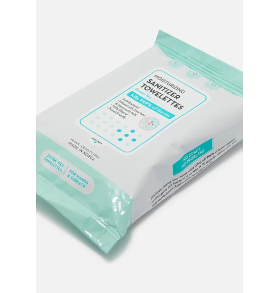 The Crème Shop Moisturizing Sanitizer Towelettes