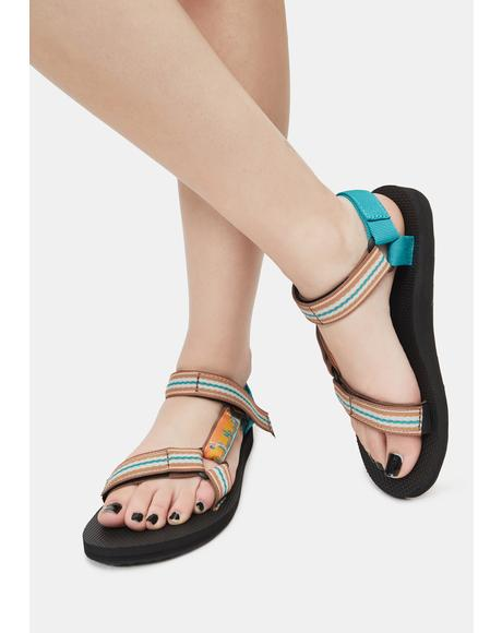 Cactus Sunflower Original Universal Sandals