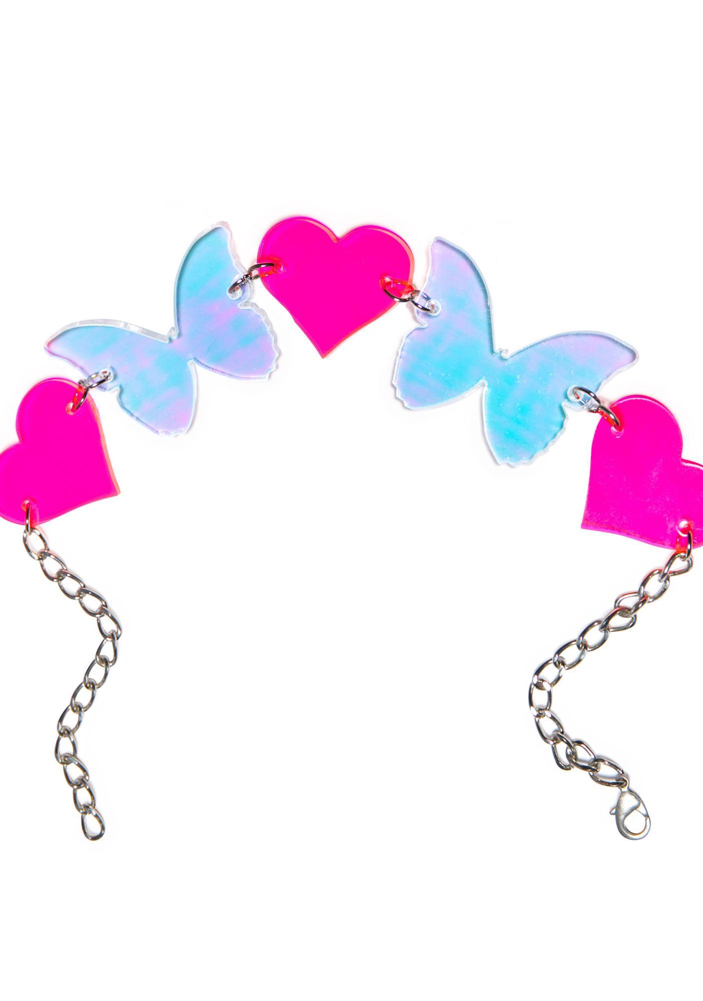 Marina Fini Butterfly Kisses Choker