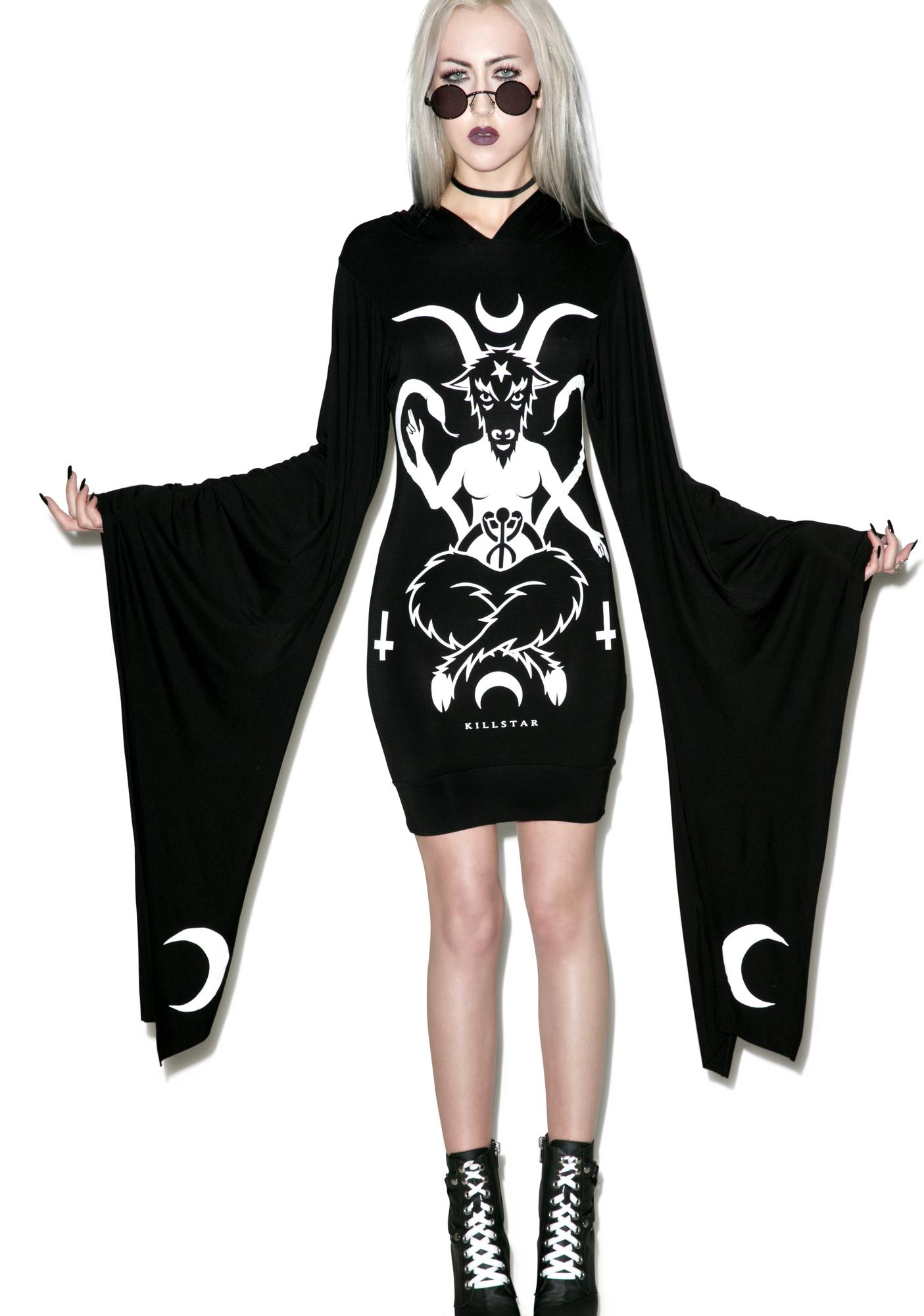 Killstar Occult Hood Dress