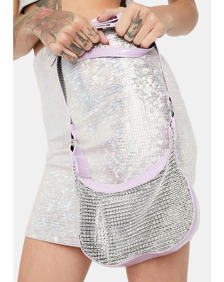 Need My Crown Rhinestone Shoulder Bag