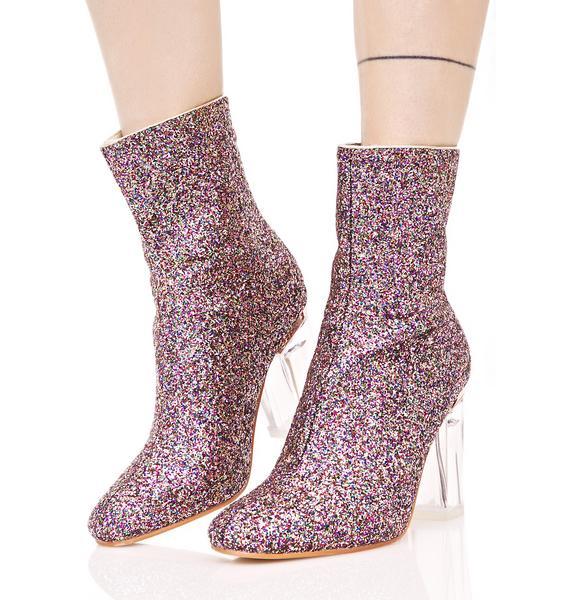 Amethyst Constellation Boots