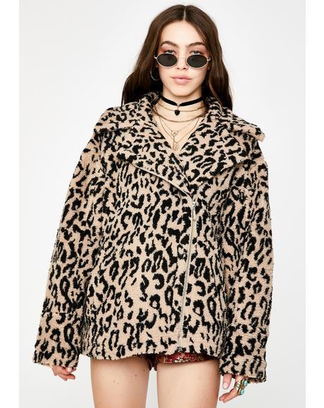 Let's Go Wild Leopard Jacket