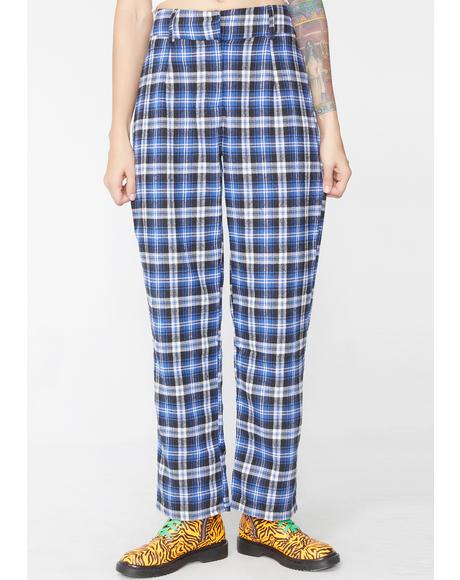 Homeroom Hottie Plaid Pants
