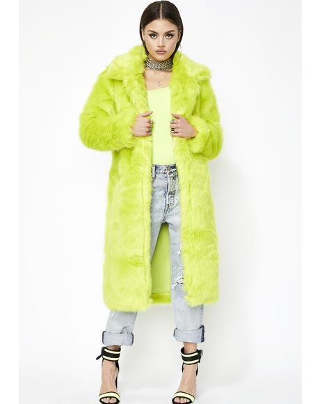 Yung Lavish Longline Coat