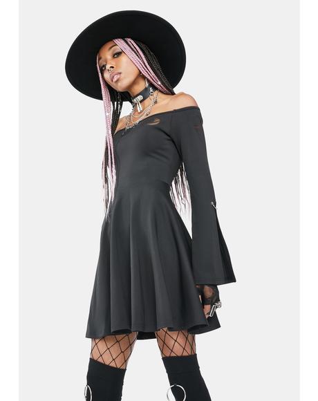 Nocturnal Divination Mini Dress