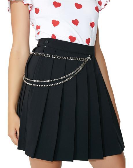 Charm Chain Skirt
