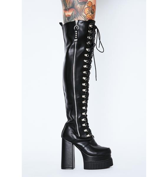 Lamoda Nice For What Thigh High Boots