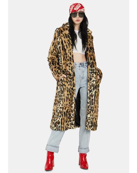 Chloe Leopard Duster