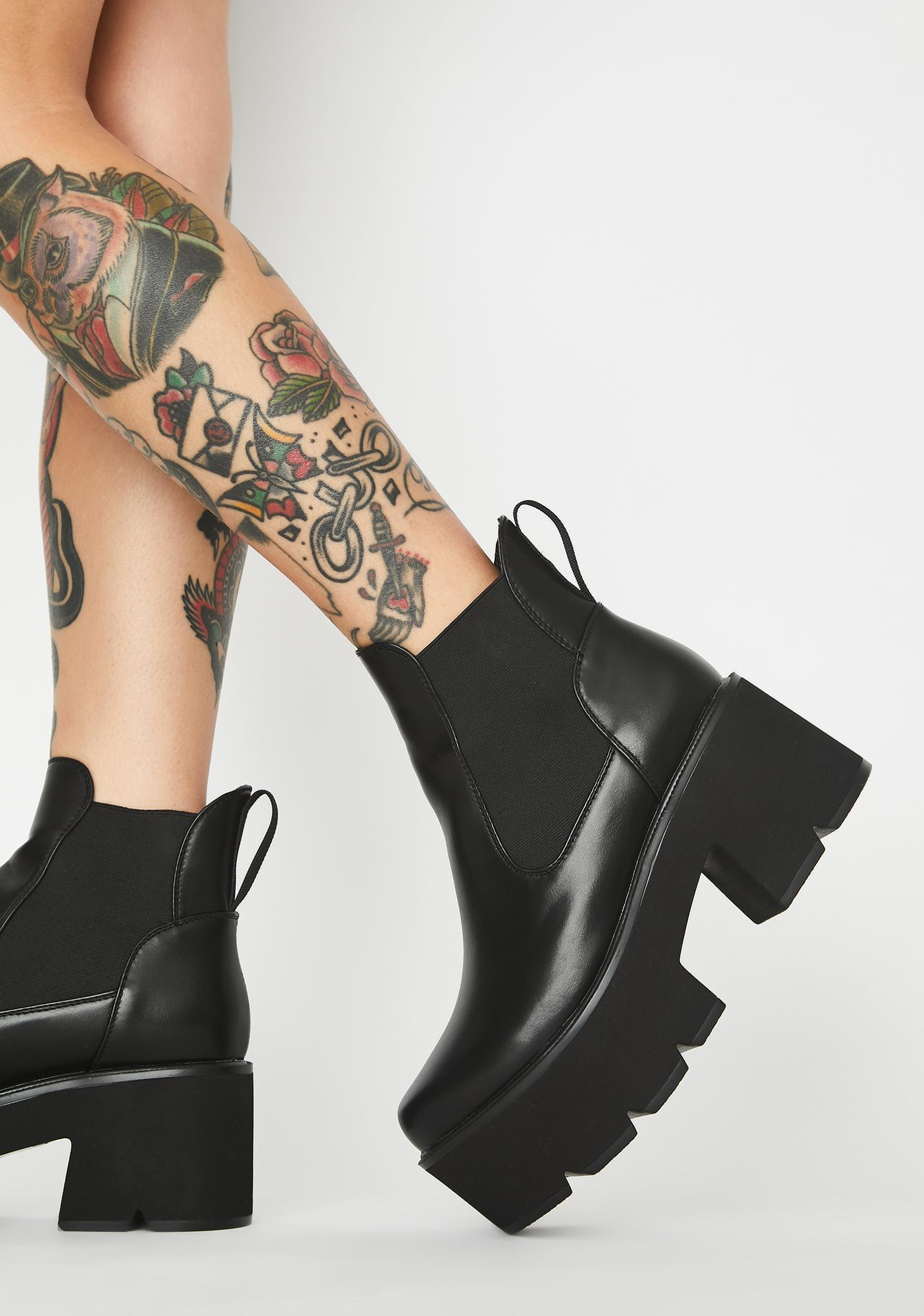 Lamoda Rougher The Better Platform Boots