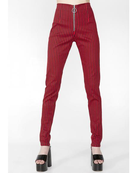 Fire Pinstripe Jolim Trousers