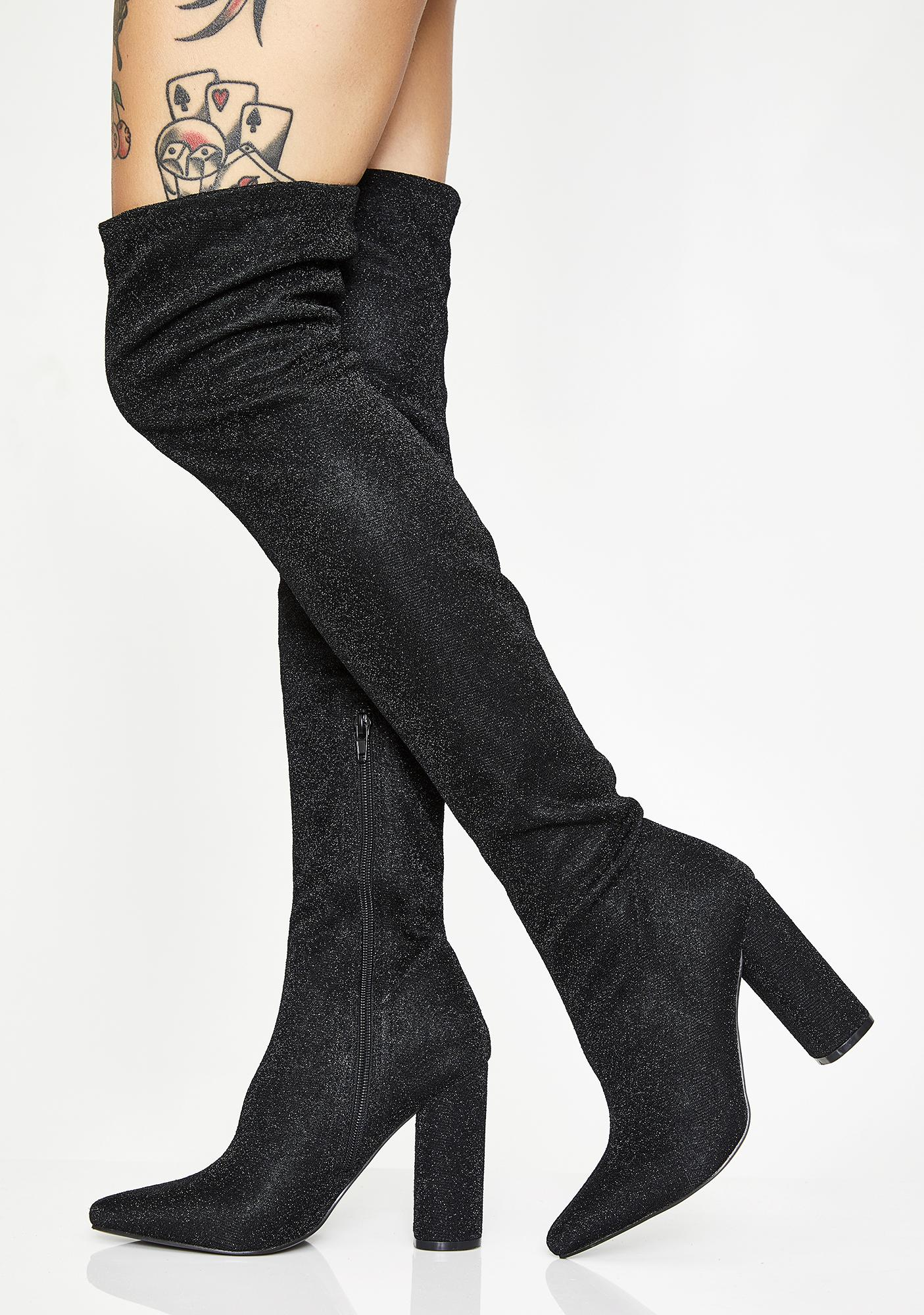 Glambition Thigh High Boots