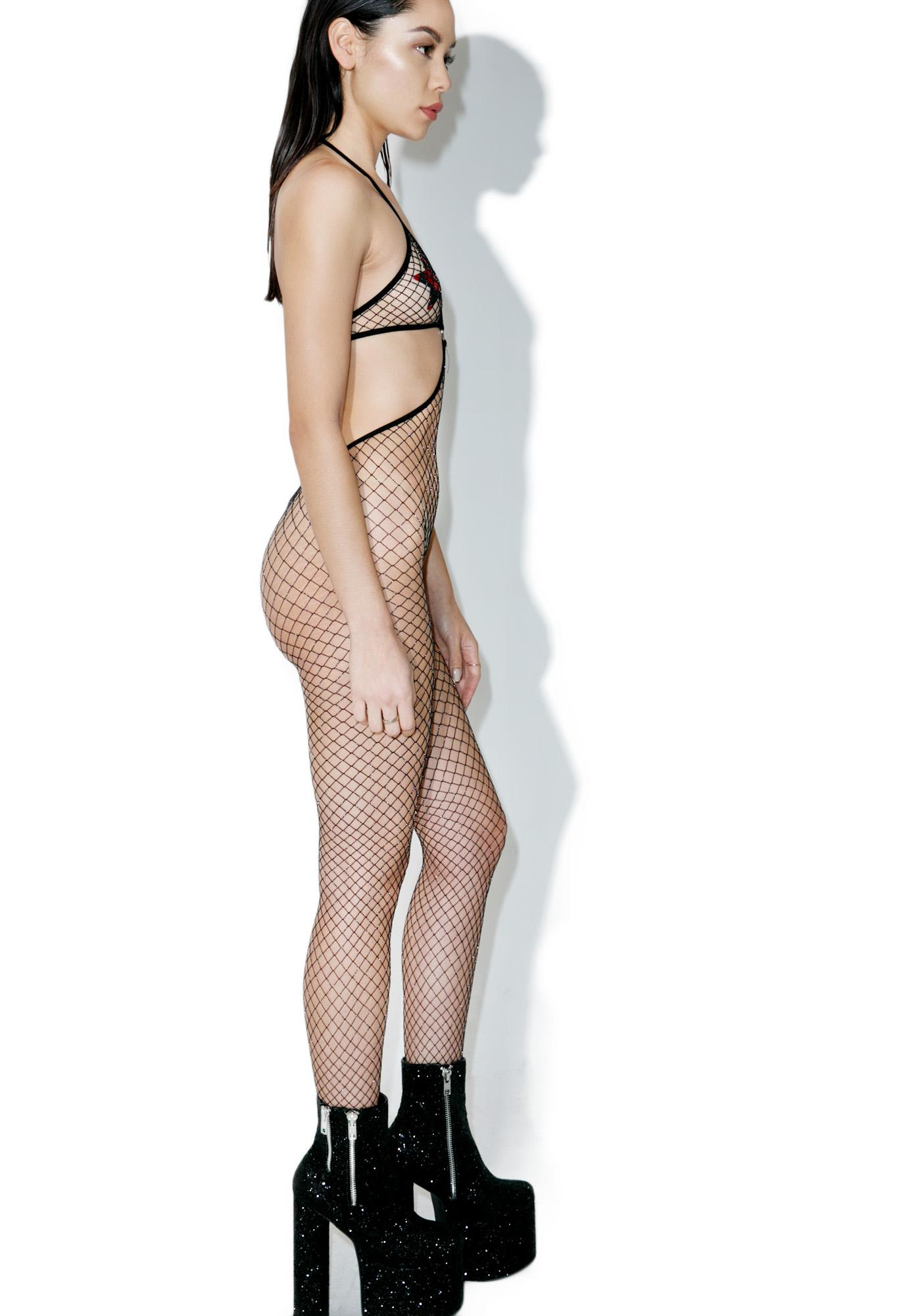 Knockout Mesh Bodysuit