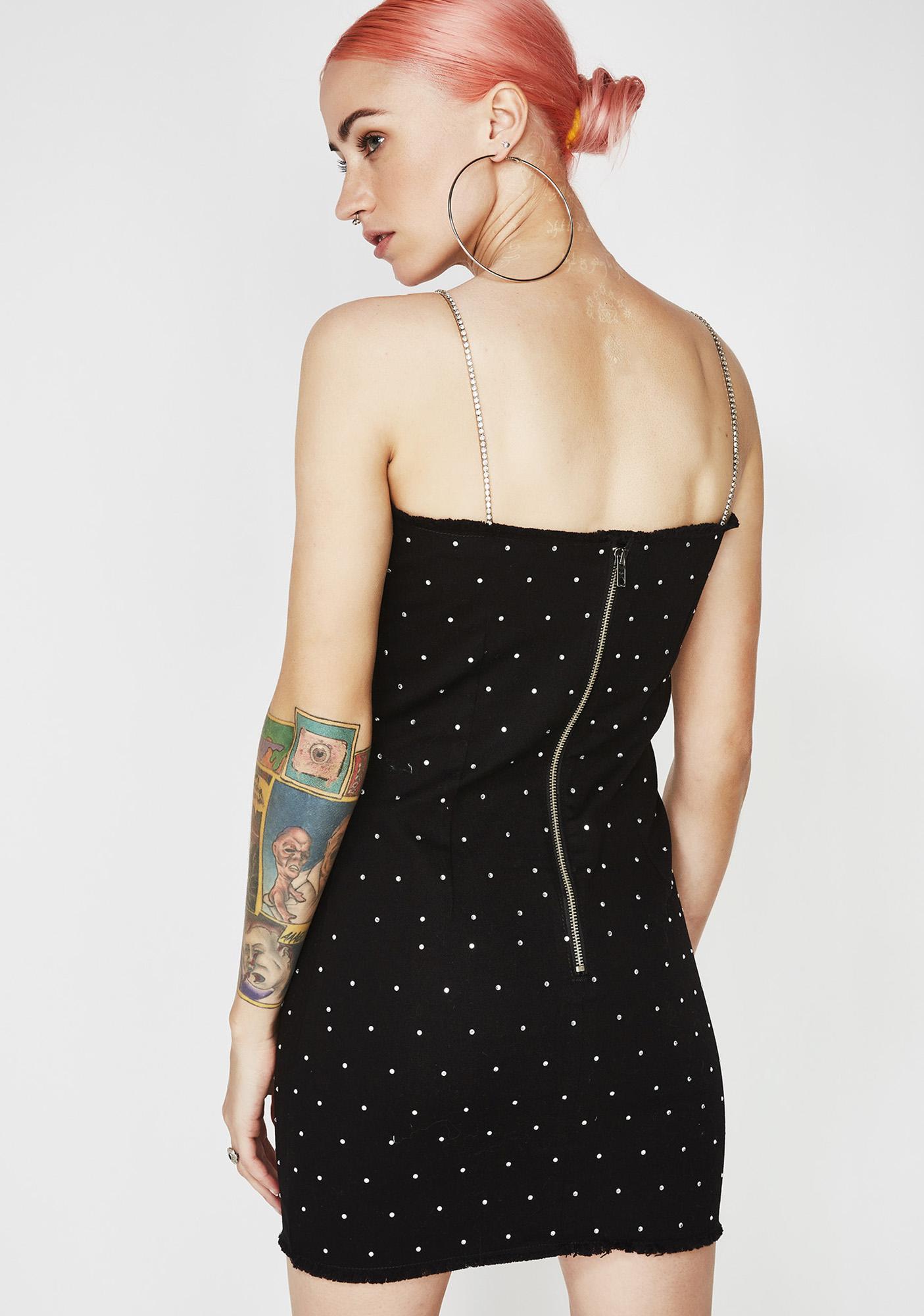 Jaded London Midnight Denim Cami Dress