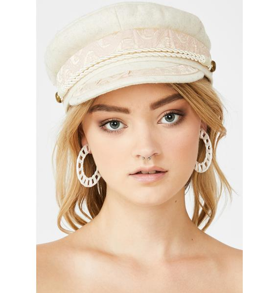 Blissful Belle Hoop Earrings